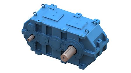 Riduttore a ingranaggi elicoidali / ad assi paralleli / ad alta coppia (Serie A/AE)  - 2