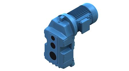 Motoriduttore trifase / ad assi paralleli / a ingranaggi elicoidali / silenzioso (Serie IRC) - 2