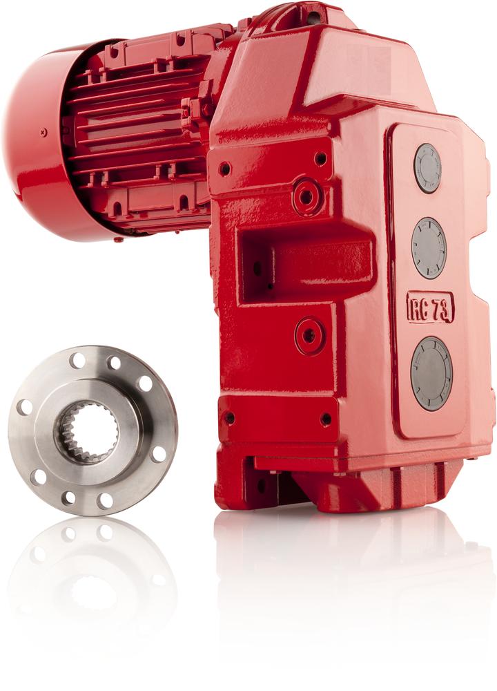 Motoriduttore trifase / ad assi paralleli / a ingranaggi elicoidali / silenzioso (Serie IRC) - 1